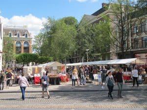 Amsterdam art market Spui