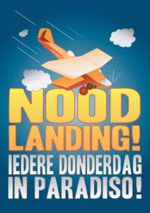 Amsterdam Club Paradiso flyer Amsterdam