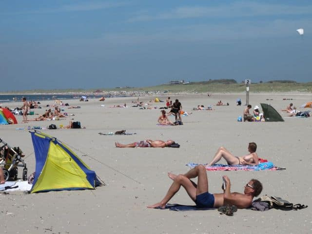 The hague nudist beach
