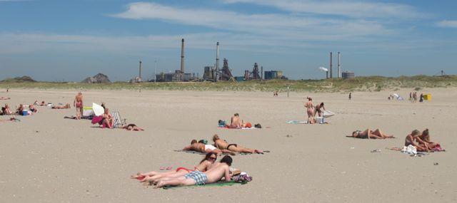 Beach near Amsterdam