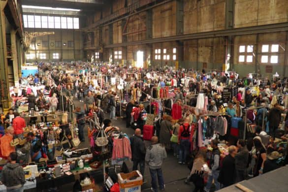 IJ-hallen for second hand shopping Amsterdam