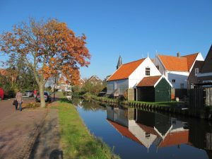 Autumn in Marken