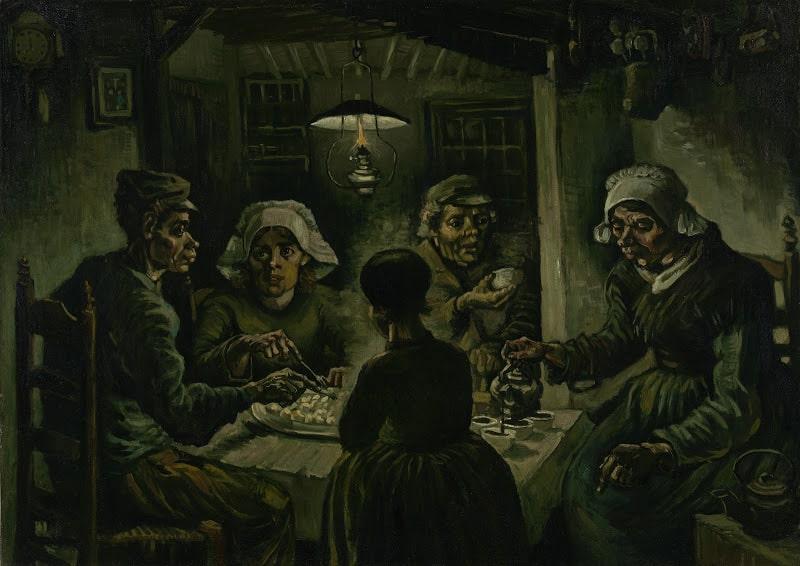Amsterdam Van Gogh The Potato Eaters