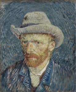 Vincent van Gogh, famous Dutch painter
