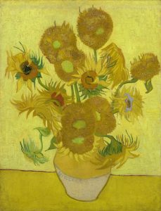 Sunflowers, a painting by Van Gogh