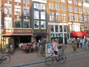 Cafe Cuba at Amsterdam Nieuwmarket
