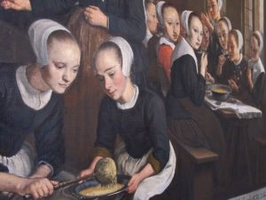 Painting of Amsterdam orphanage