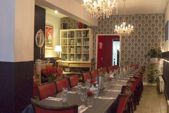 Saskia's living room restaurant