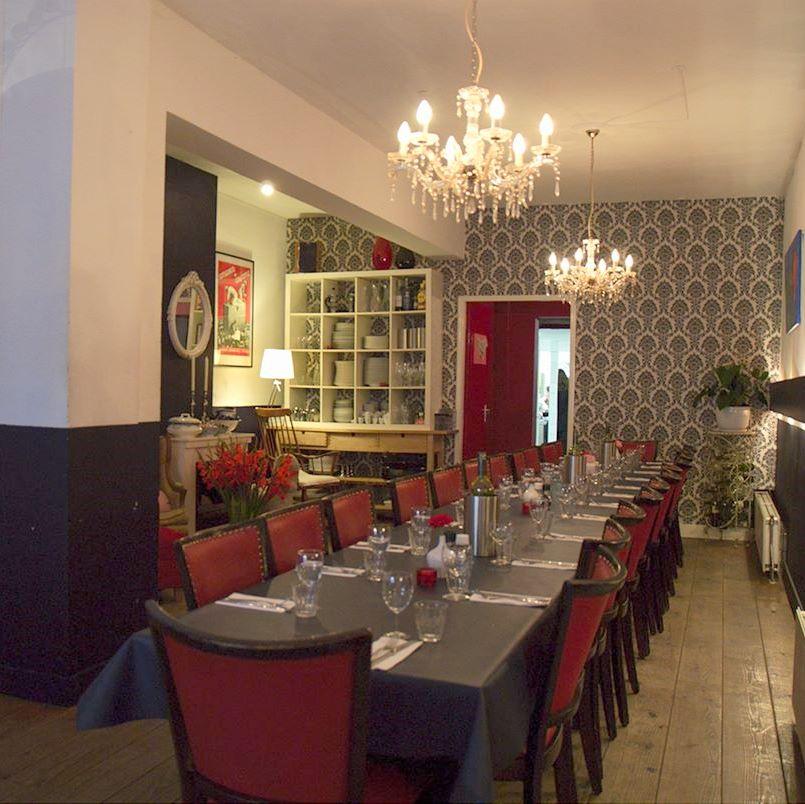 Living room restaurants Amsterdam