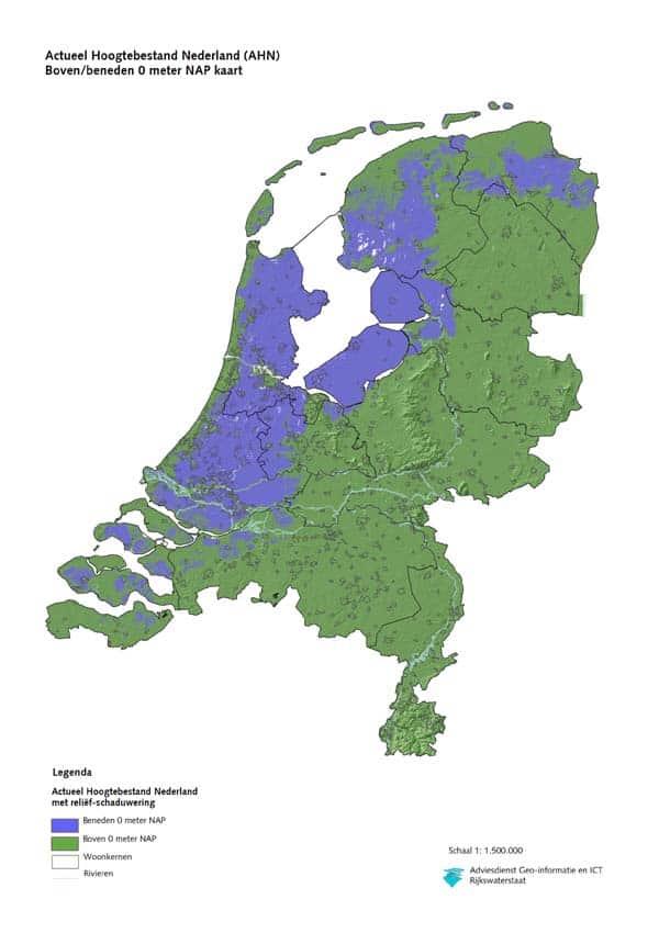 Below sea level Holland