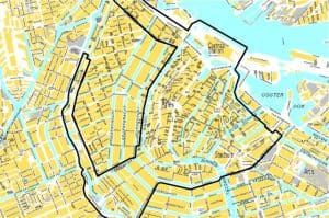 safety risk areas map Amsterdam