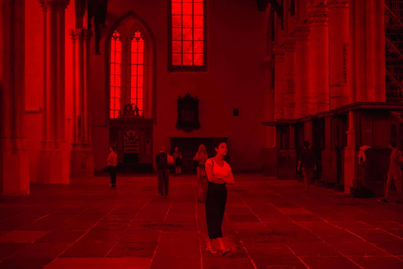 Oude Kerk red light