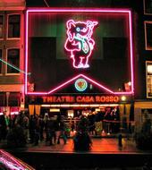 Erotic show red light Amsterdam