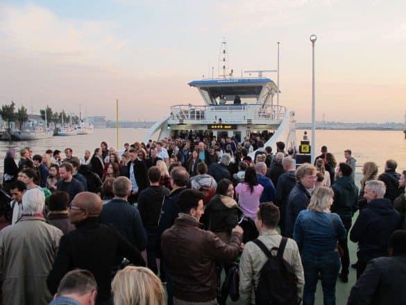 Ferry to NDSM