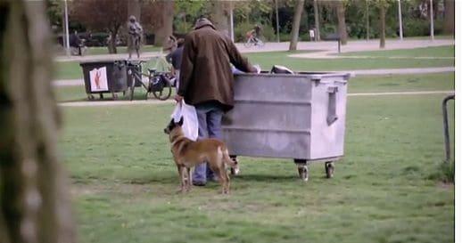 Homeless in Amsterdam