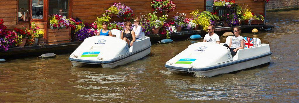 eco canal bikes Amsterdam