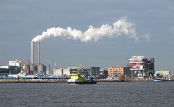 Bike ride Amsterdam IJ