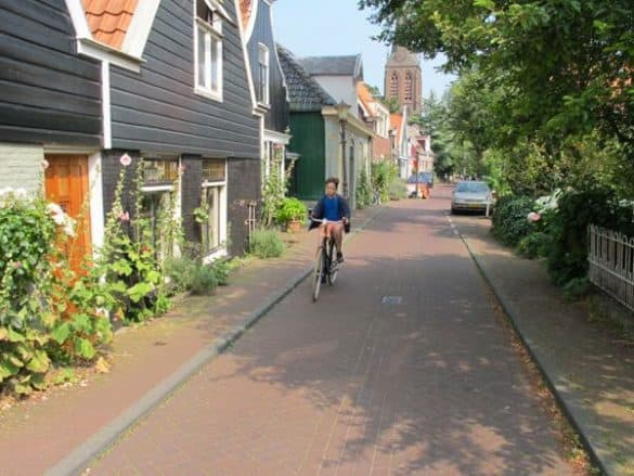 bike ride Amsterdam north