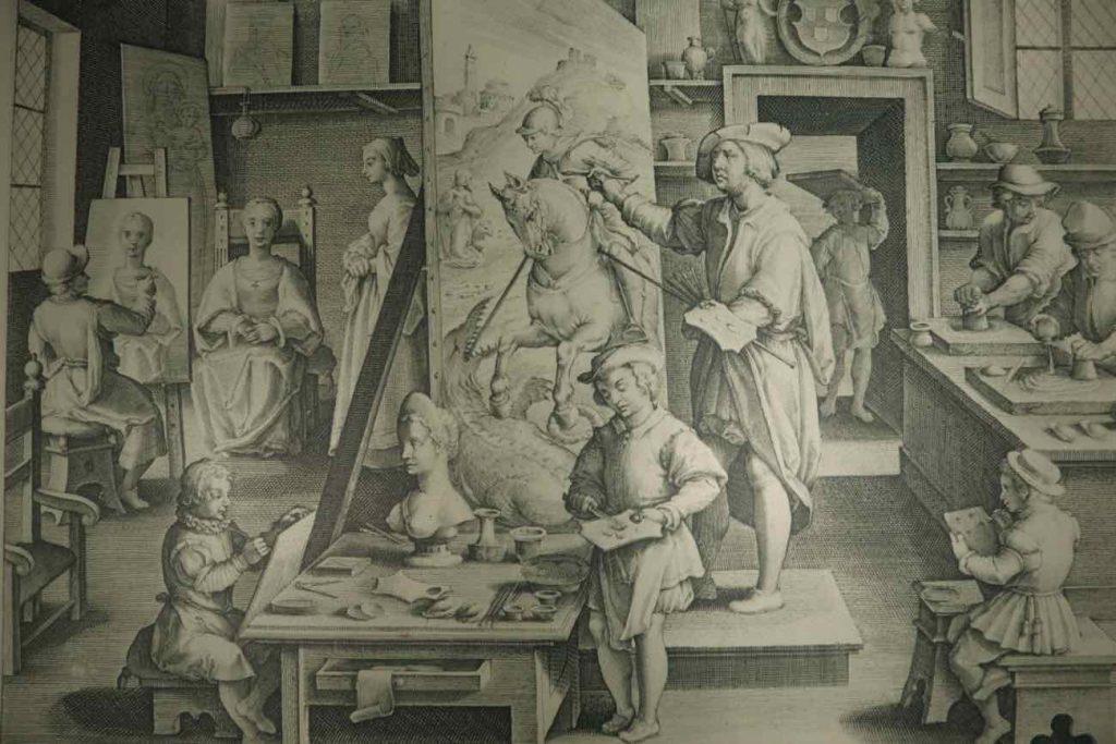 Rembrandt workshop Amsterda