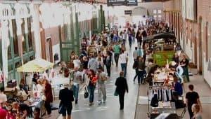 Local goods market Amsterdam