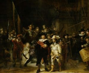 The Night Watch at Rijksmuseum