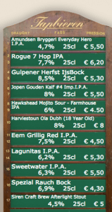 Prices beer Amsterdam