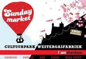 Logo Sunday Market Amsterdam events 2018