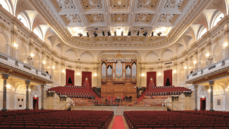 Royal Concertgebouw in Amsterdam