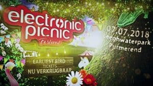 Flyer Festival Electronic Picnic
