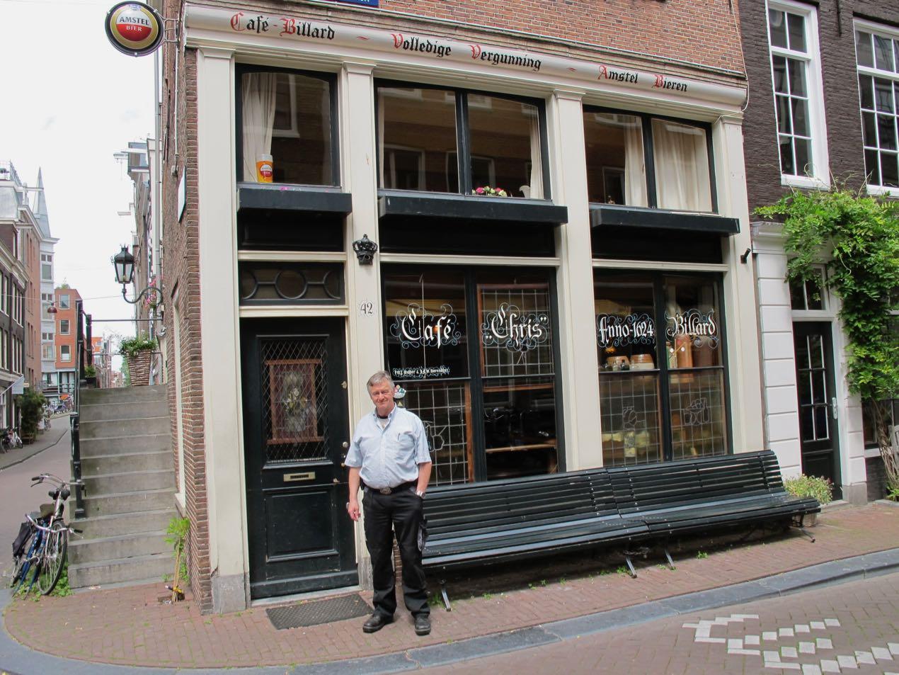 Brown bar in Amsterdam Jordaan