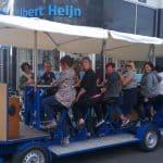 Amsterdam group activity beer bike
