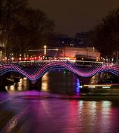 Canal cruis light festival