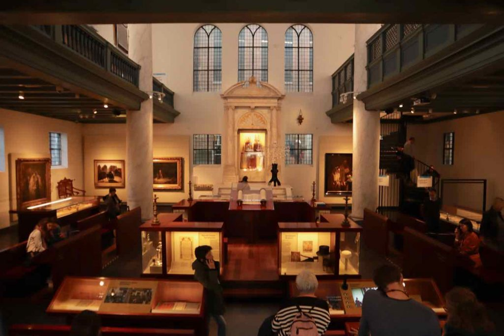former synagogue amsterdam