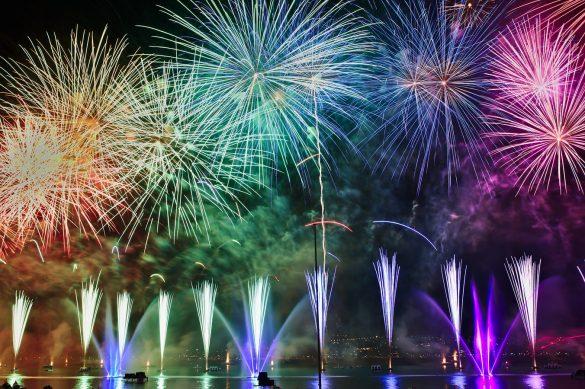 Firework NYE amsterdam