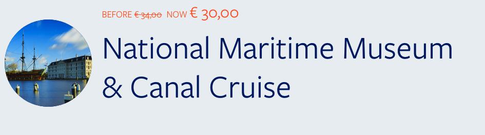 Combo Ticket Amsterdam Maritime Museum