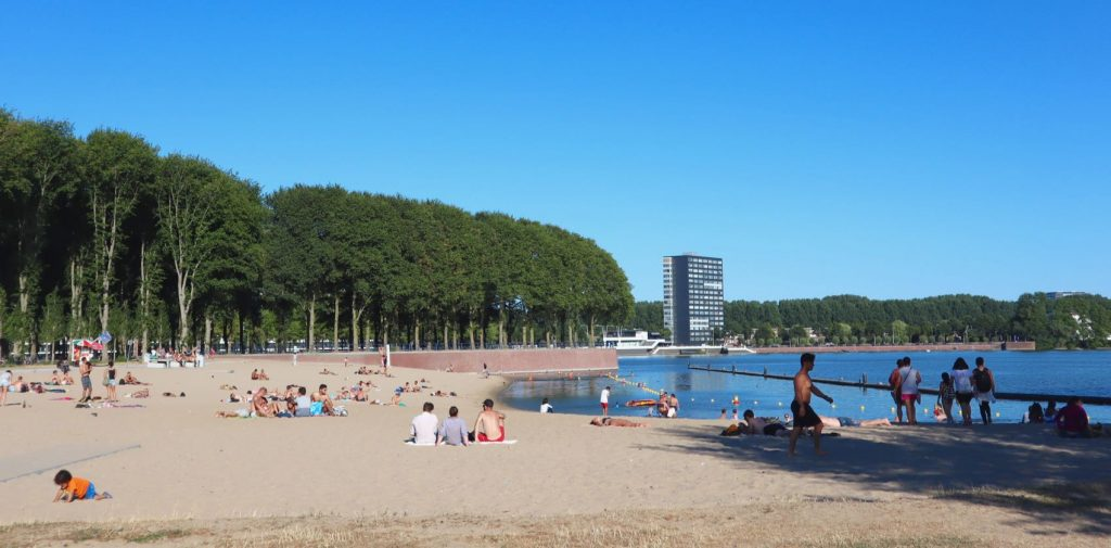 Sloterplas Amsterdam city beach