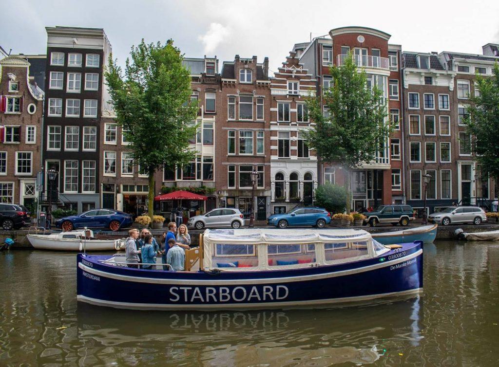 Amsterdam private boat tour